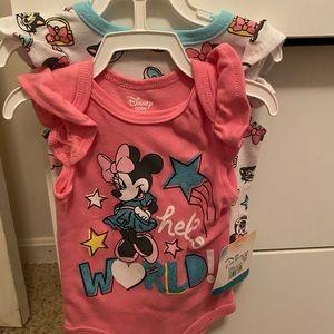 Disney Baby girl 0-3 months Onesie